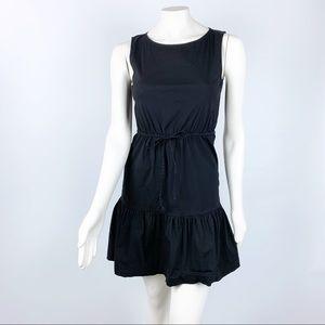 Theory | Lindall Luxe Sleeveless Drawstring Dress